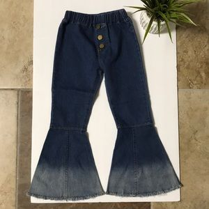 Cute 👖 girl Jeans bell Bottoms